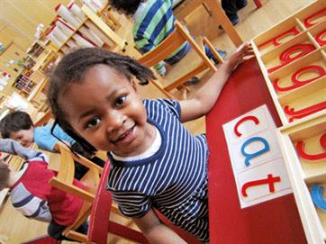Montessori St Nicholas wants all children to be able to access a Montessori education