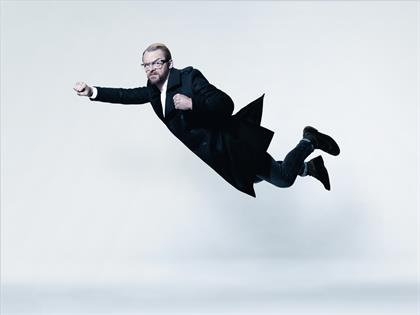 Actor Simon Pegg