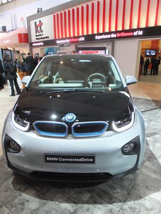 BMW's connected car