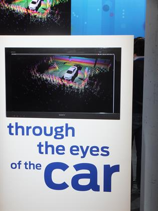 Ford's Lidar technology, which uses light in a similar way bats use sound waves to navigate