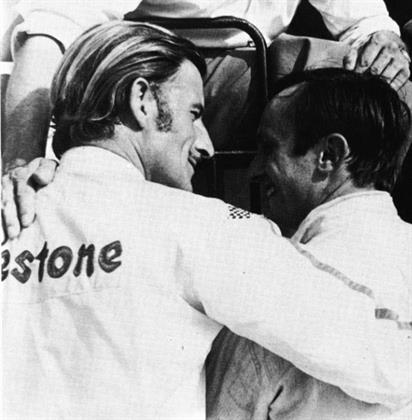 British F1 icon Graham Hill used Firestone tyres
