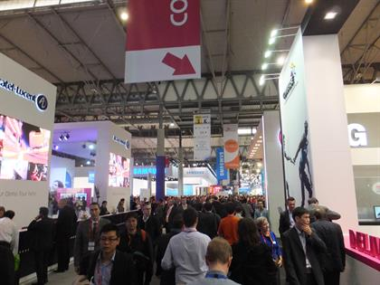Hall 3 at the Fira Gran Via