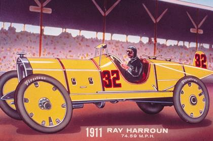 Ray Harroun won the Indianapolis 500 in 2011 with Firestone tyres
