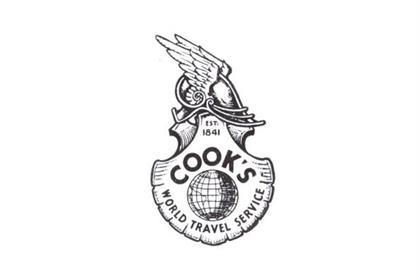 Introduced after the Second World War, this symbol combined the scallop shell emblem of pilgrims with the winged helmet of Mercury, Messenger of the Gods. This logo featured on company letterheads and shop windows rather than brochure covers, although it did sometimes appear within brochures.