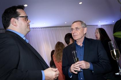 The Marketing Society's Hugh Burkitt and Nectar's James Frost