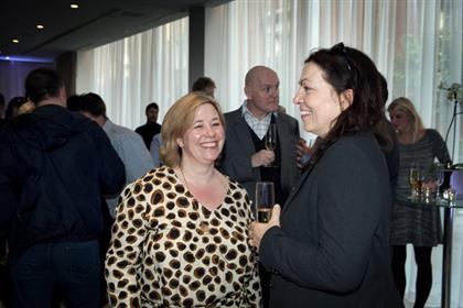 P&G's Roisin Donnelly with Engine's Nina Jasinski