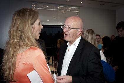 Editor Claire Beale with Advertising Association's Tim Lefroy