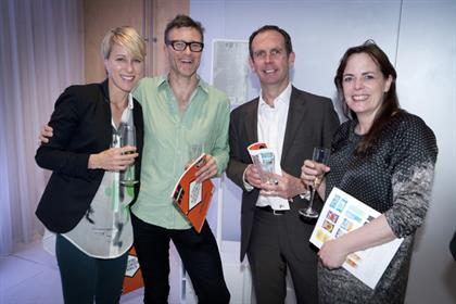 One for everyone! Guests grabbed a copy of the hot-off-the-press first issue of the new Marketing