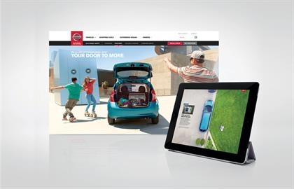 7. Nissan Note interactive film