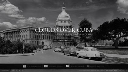 Clouds Over Cuba (John F Kennedy Presidential Library)