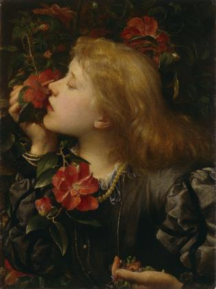 George Frederic Watts, Ellen Terry ('Choosing'), c.1864, National Portrait Gallery 2