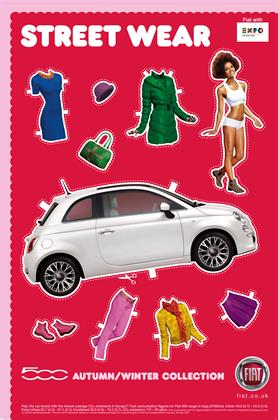 4. Fiat 500, 'autumn/winter'
