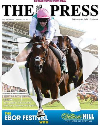 6. Newsquest, 'Ebor Handicap coverwrap'