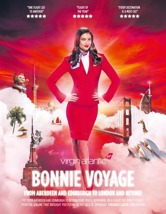 8. Virgin Atlantic, 'bonnie voyage'