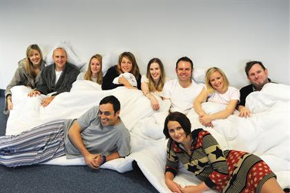 Taking the idea of the office romance to its logical conclusion, staff at Good Relations Regional hopped into bed together. The excuse after this sordid pic emerged was something about taking naps to become more productive, but you can't pull the wool over S&E's eyes.