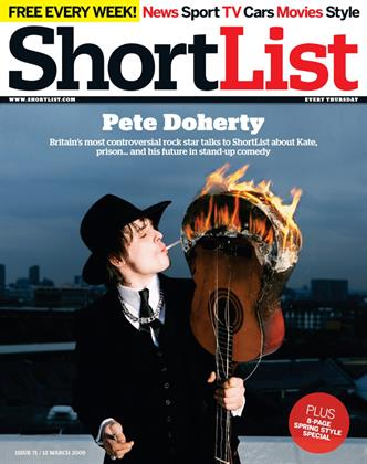 Pete Doherty - 12th March 2009