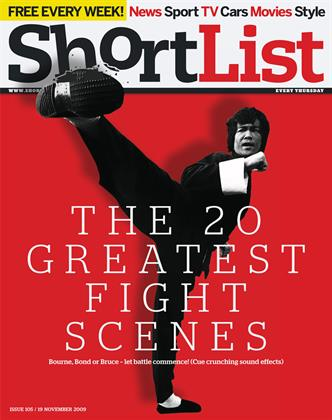 The 20 greatest fight scenes - 19th November 2009