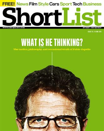 Fabio Capello - 10th June 2010