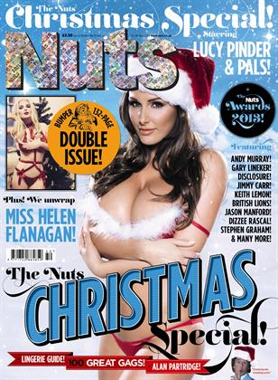 Page 3 and soap stars fill the pages of the Nuts bumper Christmas special, published by IPC Media.