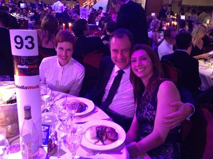 OMD's Ann Wixley, Yahoo's James Wilding and Maxus' Lindsay Pattison