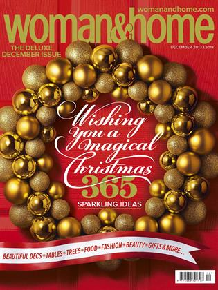 Meanwhile, IPC Media's Woman & Home forewent the usual cover star in favour of baubles this year.