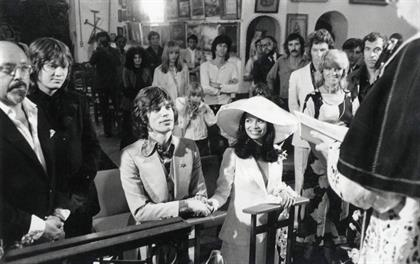 Image 7_Mick Jagger & Bianca Jagger getting married_79048267.JPG