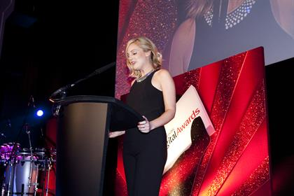 Rachel Bull, editor of Brand Republic, opens the awards
