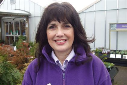 Linda Carless-James, plant adviser and garden designer, Webbs Garden Centre - image: HW