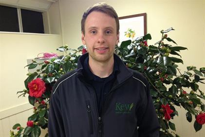 Alex Hankey, third-year diploma student, Kew