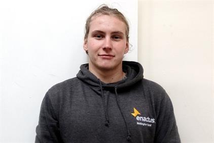 Connor Deacon, student, Nottingham trent University