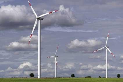 GE wind turbines home