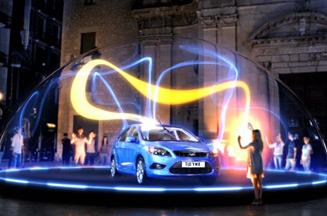 Ford promotes Focus with interactive plasma ball
