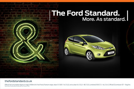 Ford: promoting the 'Ford Standard'