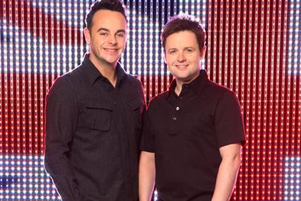 Ant and Dec: signed up for Morrison's multi-media campaign