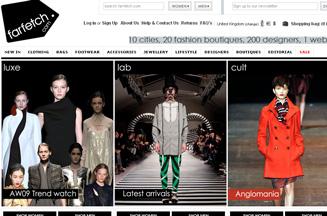 Marketing's 10 hottest fashion websites