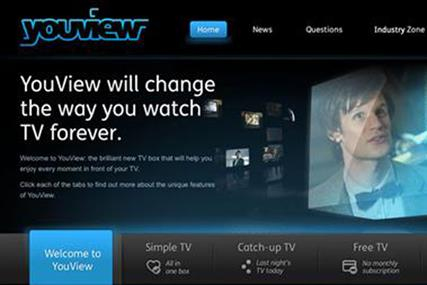 YouView: plans digital push to promote its set-top boxes