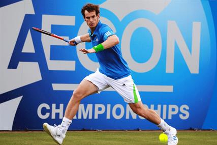 Aegon: headline sponsor of tennis at Queen's