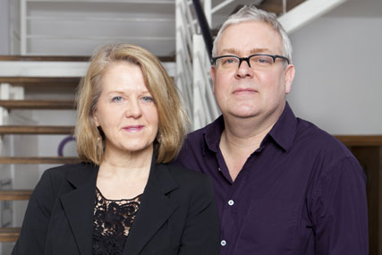 Charlton and Garton: deal sees them join the Publicis UK board