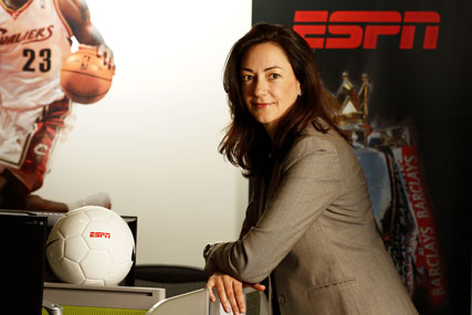 Lynne Frank, senior vice-president and managing director, EMEA, ESPN