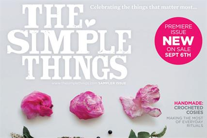 The Simple Things: Future to bring out lifestyle title next month