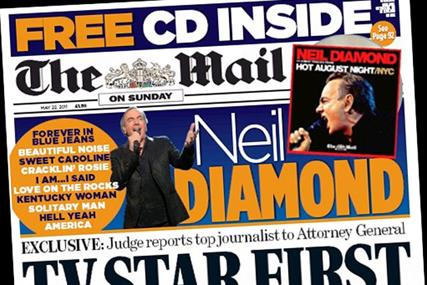 Mail on Sunday: launches ad competition