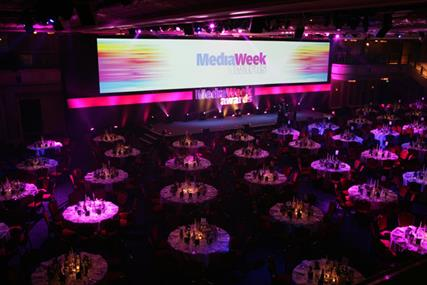 Sold out: the Media Week Awards take place next Thursday evening