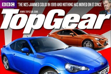 Top Gear: slumped 18.6% year on year to 155,017