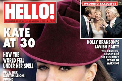 Hello! Circulation down 14.6% year on year