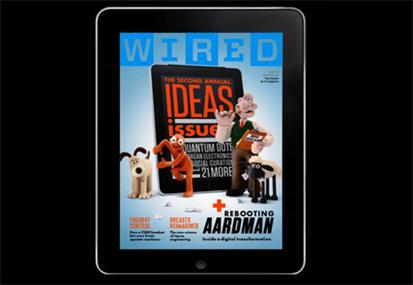 Wired's new iPad app: in at number two