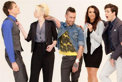 The Exclusives: Ellie Henman (second from left) wins TV reality show