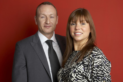 ShortList Media: managing director Karl Marsden and ShortList commercial director, Georgina Turner