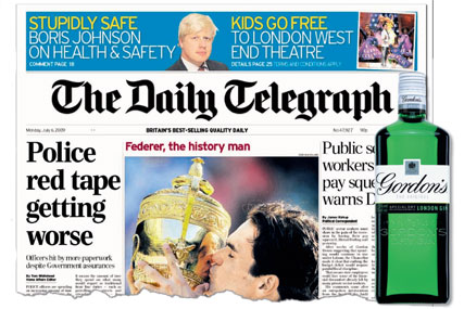 The Telegraph teaming up with Gordon's for The Friday