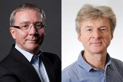 Les Binet, adam&eve DDB (left) and Peter Field