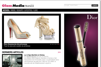 Glam Media: launches French operation